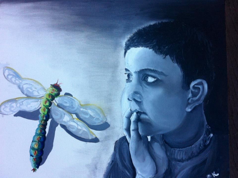 Shreyash | Oil on Canvas. Feb 2, 2013, Atlanta GA, USA