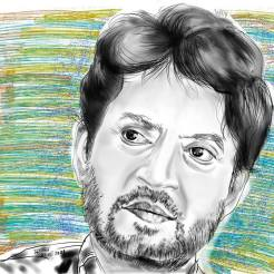 A Tributre to Irrfan Khan | Procreate on iPad